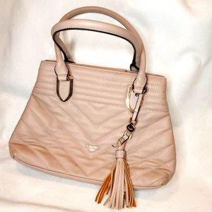 Dune London Taupe Double Strap Shoulder Bag